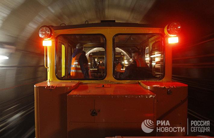 Строительство станций метро Москвы