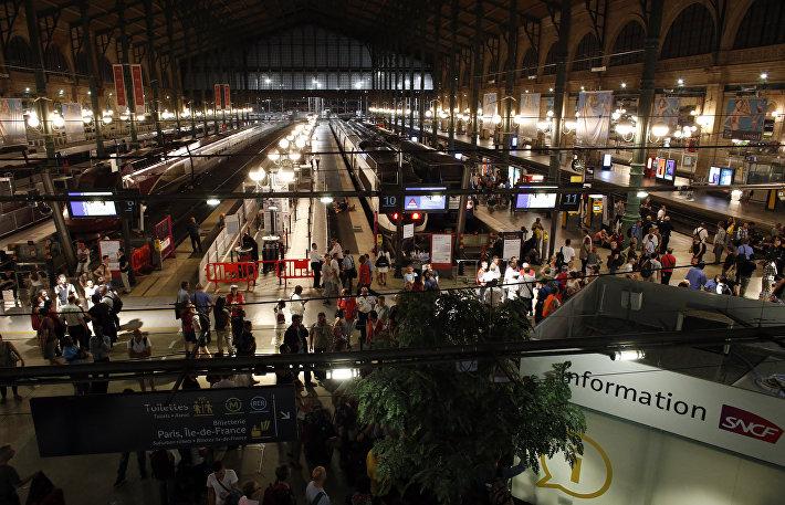 Вокзал Gare du Nord, Париж, Франция