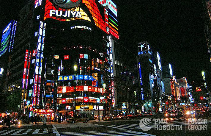 Огни ночного Токио