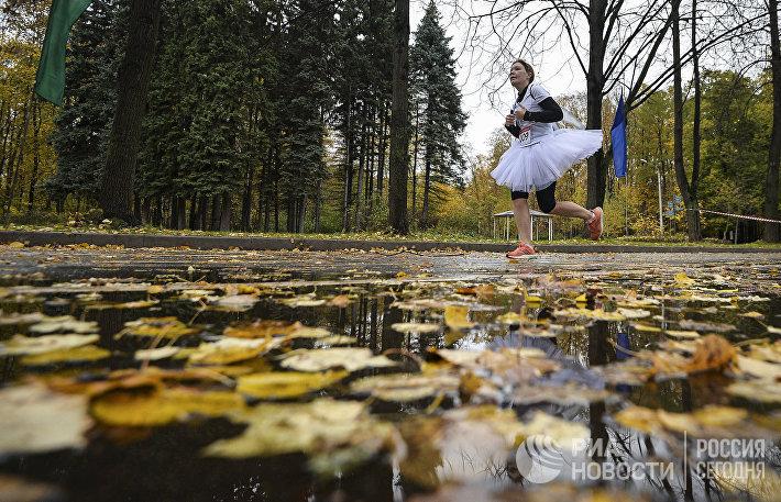 Супергеройский забег в парке Сокольники