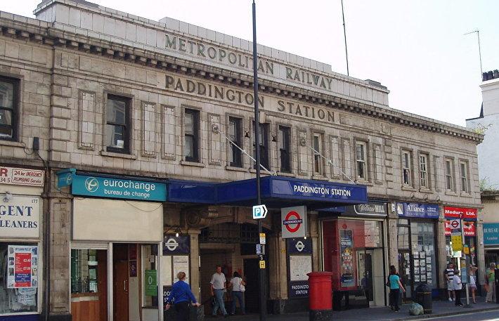 Вход в станцию метро Paddington, Лондон