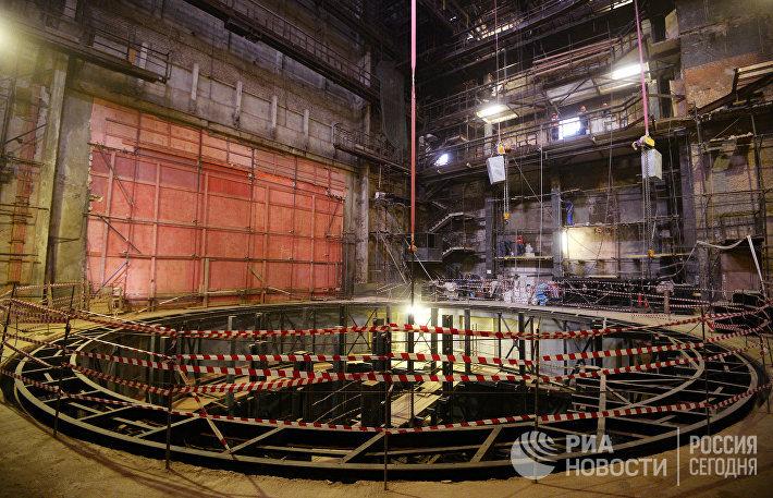 Глава Минкультуры России В.Мединский проверил ход реконструкции Малого театра