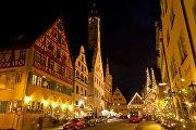Одна из улиц Ротенбурга, Германия