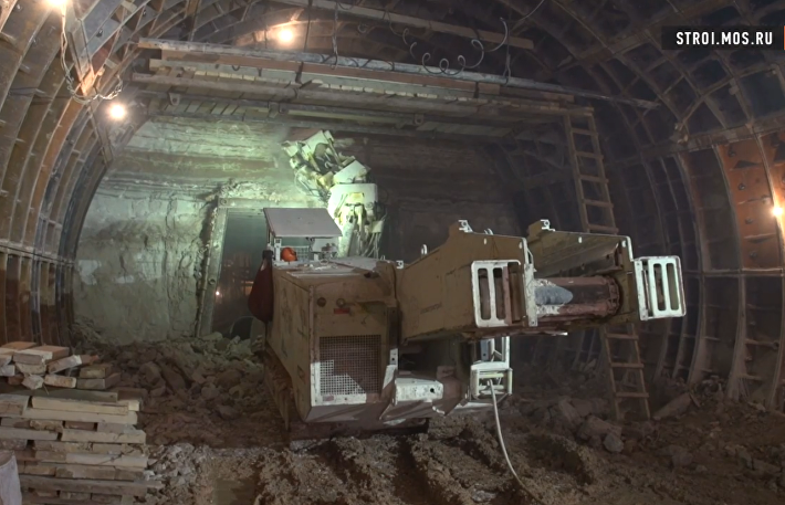 Станция метро Нижняя Масловка: стройка сквозь 300 миллионов лет