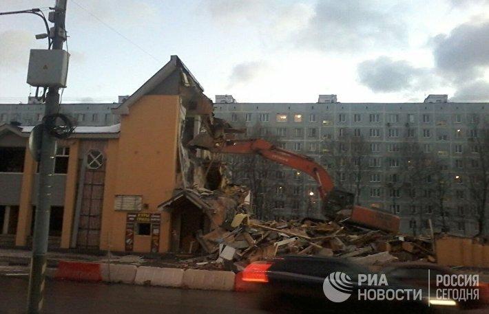 Снос самостроев в Москве