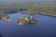 Остров Валаам на Ладожском озере