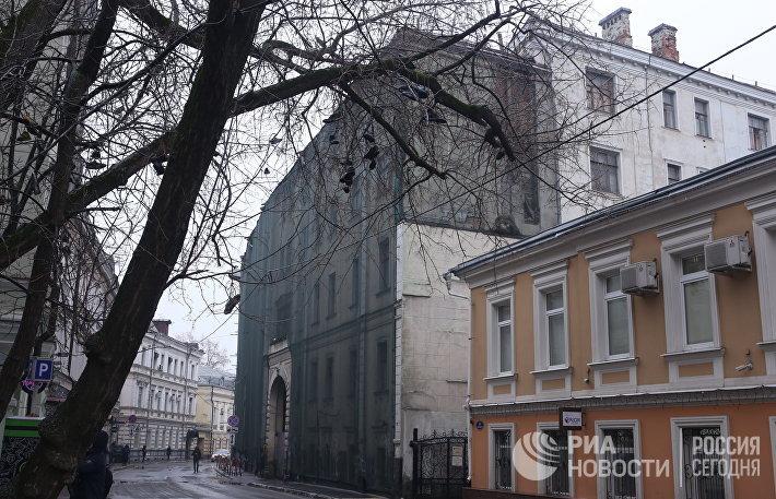 Усадьба Абрикосовых в Потаповском переулке