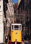Трамвай-фуникулер в Лиссабоне
