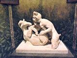 Сатир и коза Помпеи