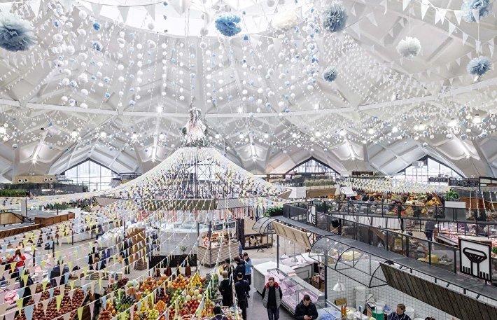 Даниловский рынок после капитального ремонта