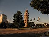 Пизанская башня в Найлзе, США