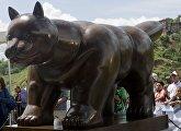 Ботеро жирный кот