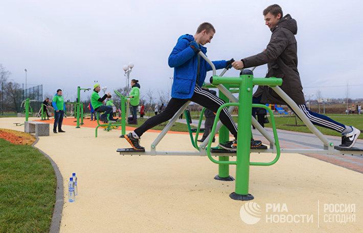 Сергей Собянин посетил парк Красная Пахра
