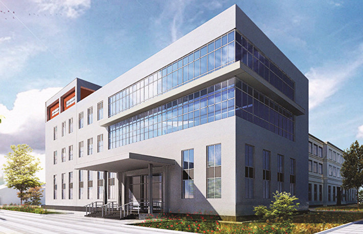 Дизайн-проект здания Национальной антидопинговой лаборатории при МГУ
