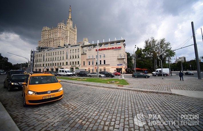 Реконструированные улицы в Москве